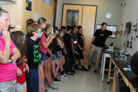 4H Students Learn About Nanotechnology in the CNF demo room