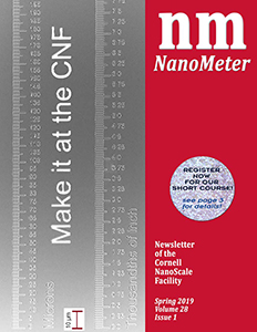 2019 Spring Edition NanoMeter Front Cover